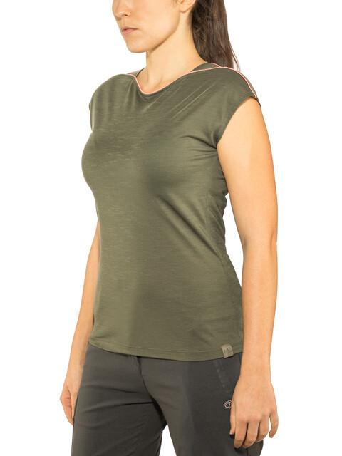 Millet Cloud Peak - T-shirt manches courtes Femme - olive